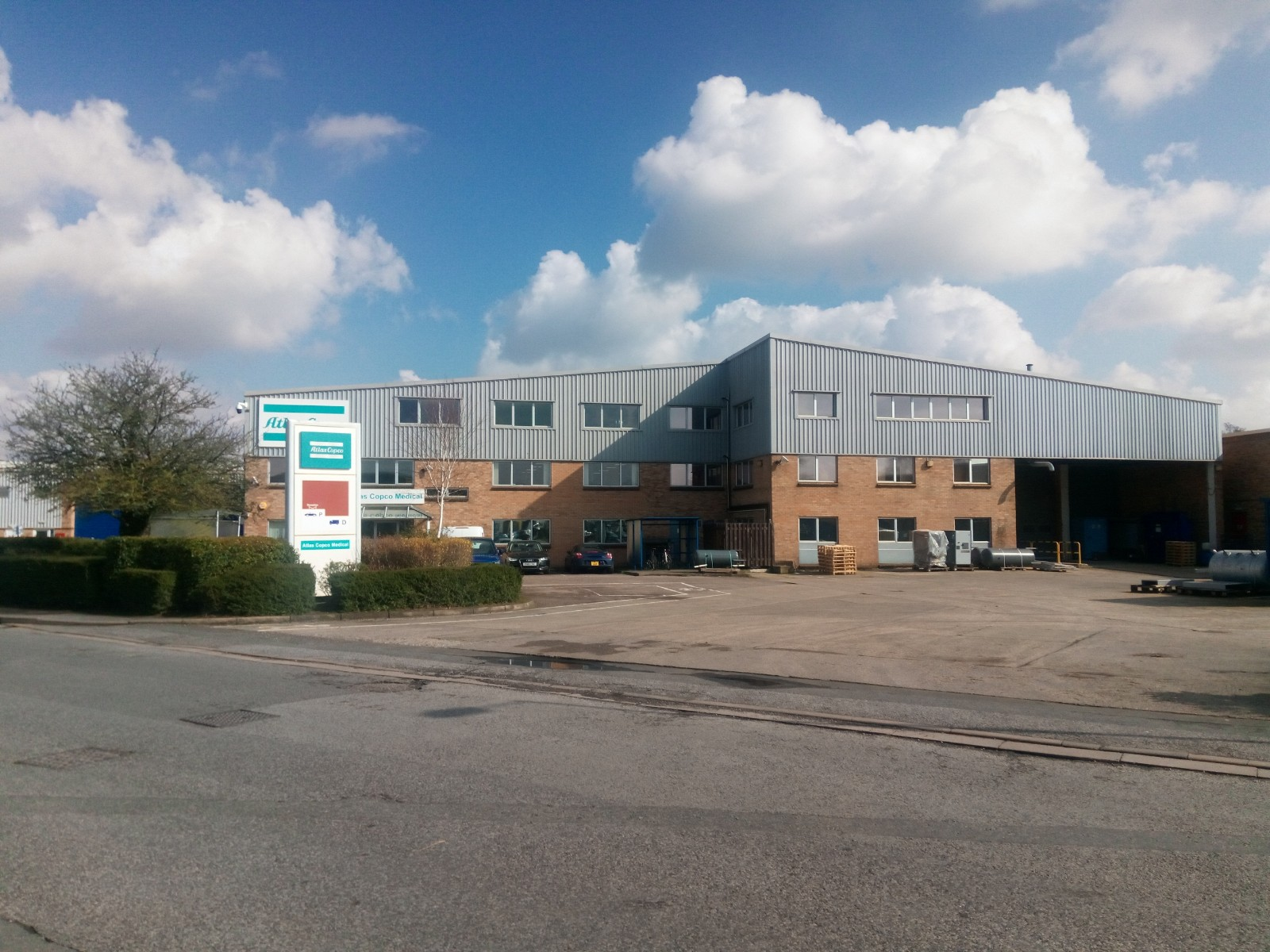 Warehouse and offices Nuffield Way Abingdon Oxfordshire