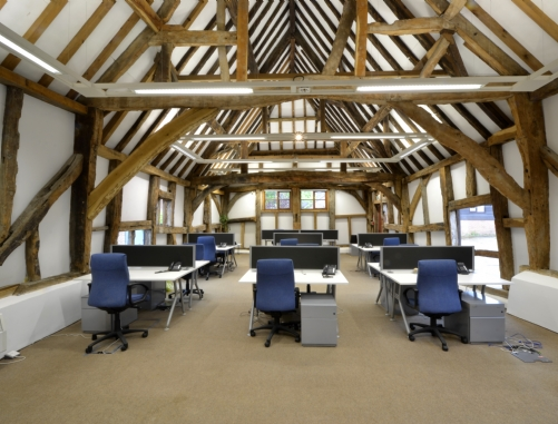 Barn conversion offices in Oxfordshire