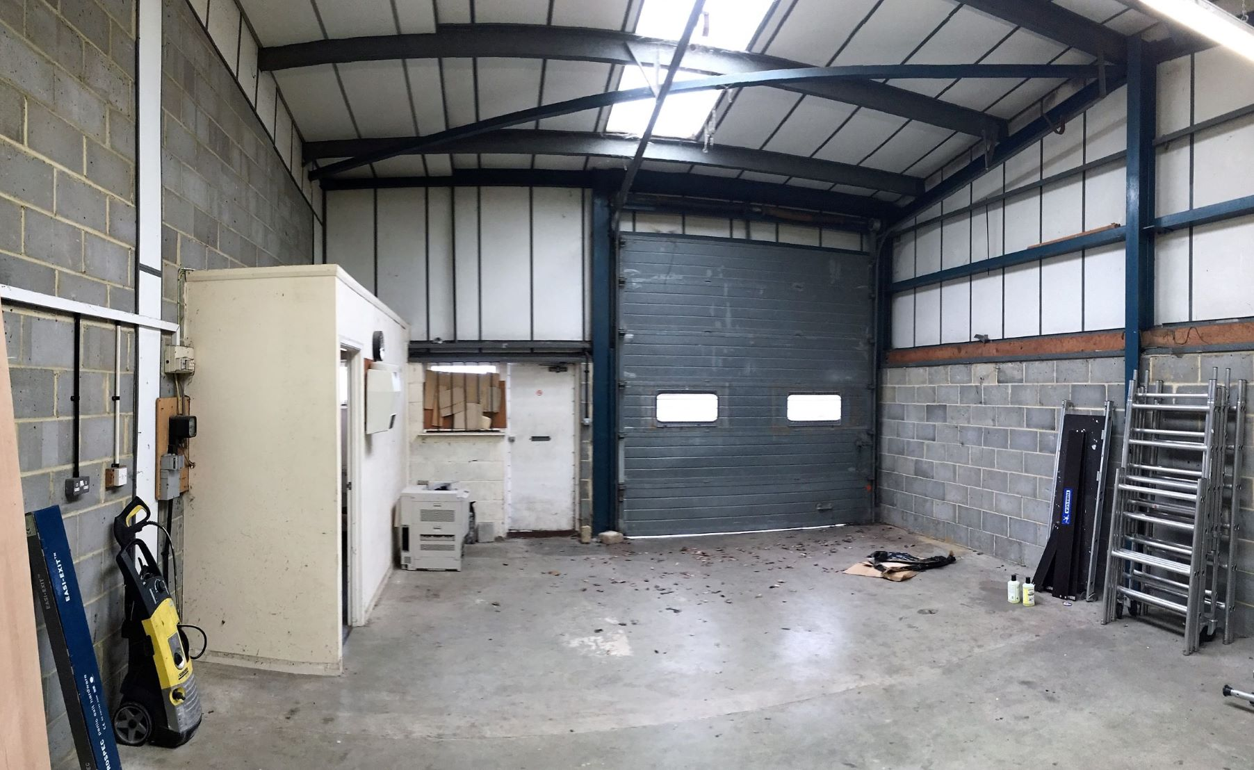Workshop industrial storage unit Wallingford, Unit K, The Croft, Whitley Road, Hithercroft Industria