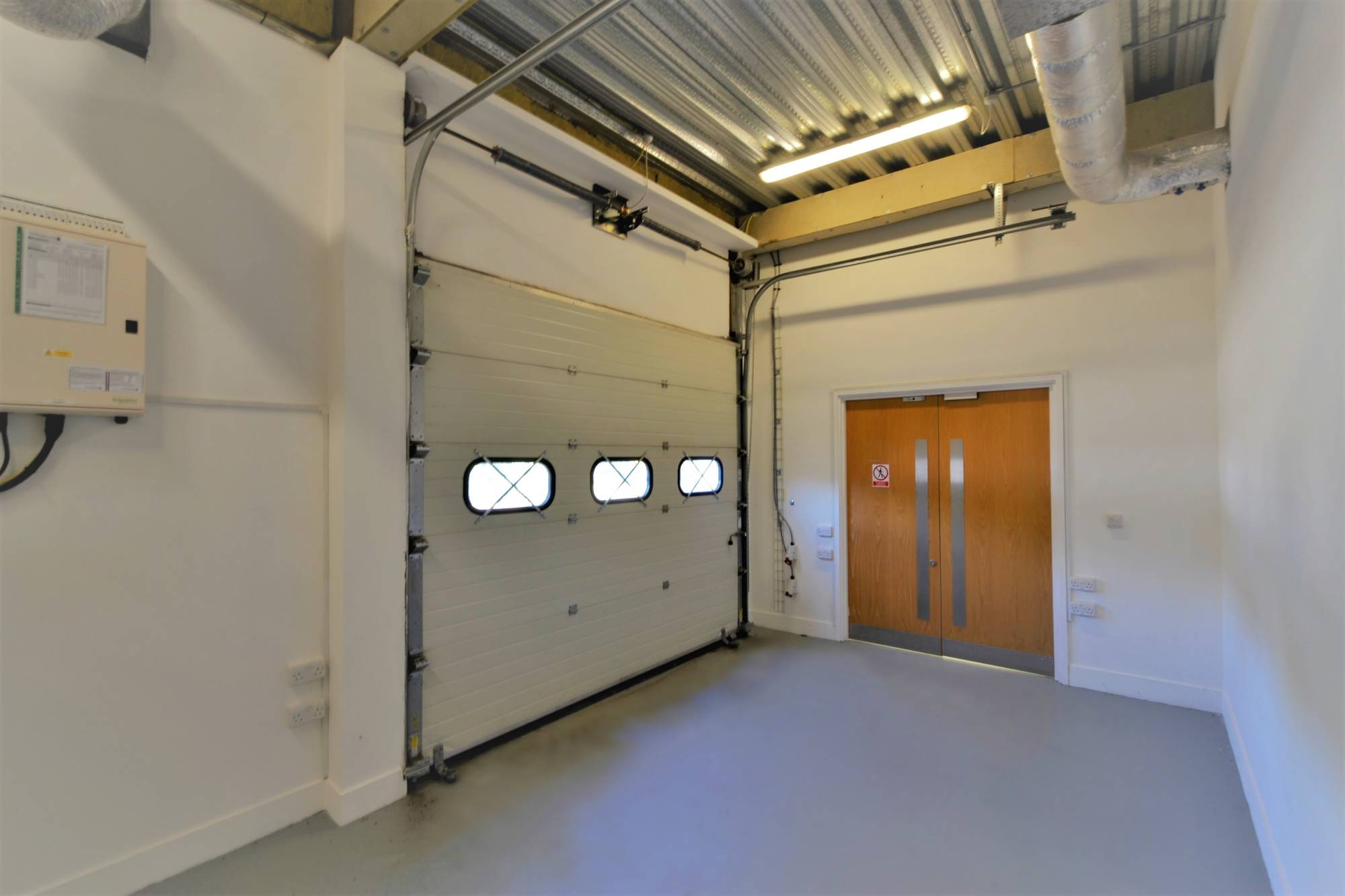 Ground floor offices/R&D with loading bay