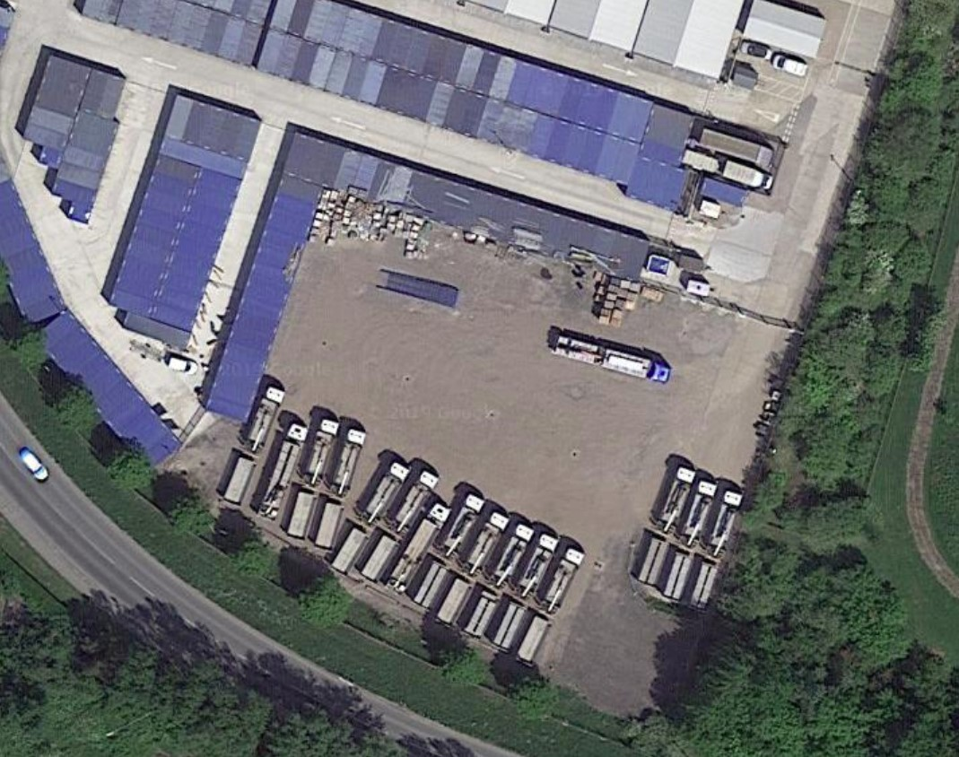 Yard hgv plant parking or open storage